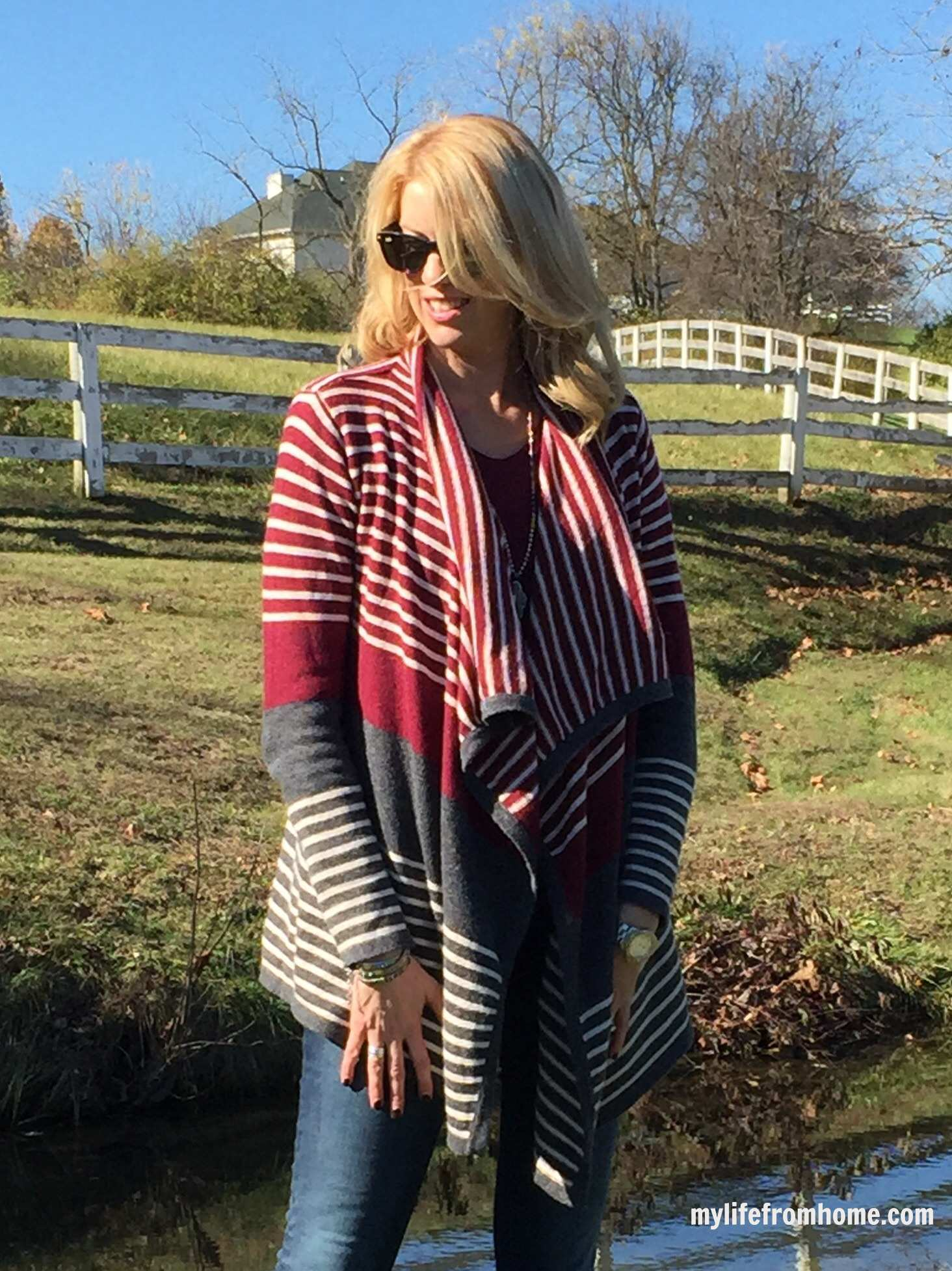 Stitch Fix Waterfall Cardigan by www.whitecottagehomeandliving.com