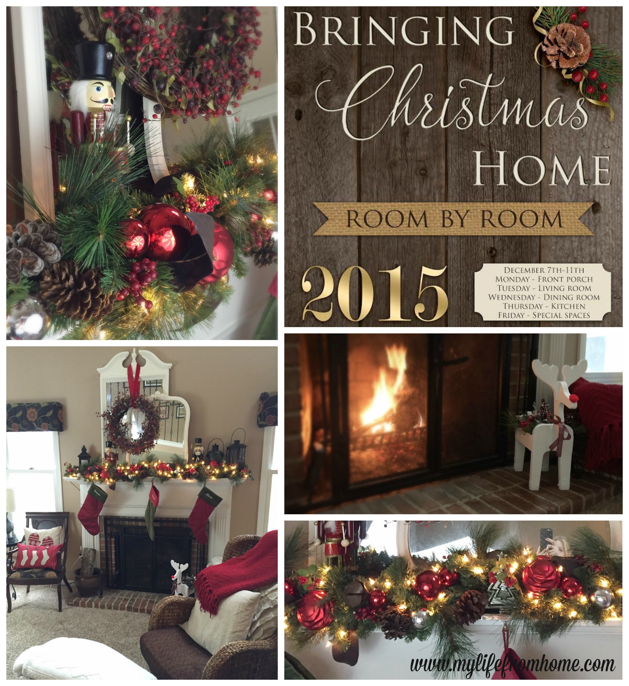 Bringing Christmas Home by www.mylifefromhome.com
