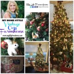 My Christmas Tree Style: Vintage, Cozy, Farmhouse