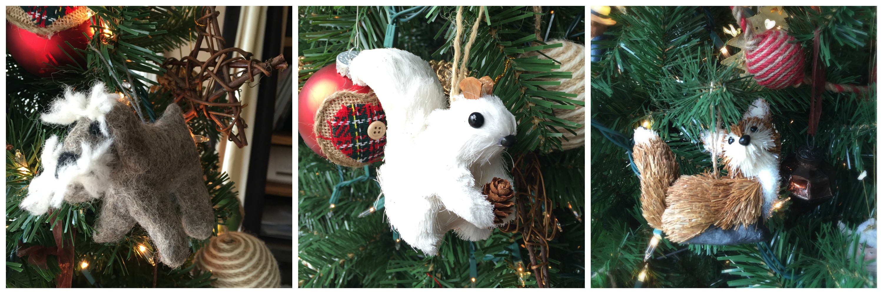 Woodland Ornaments by www.mylifefromhome.com