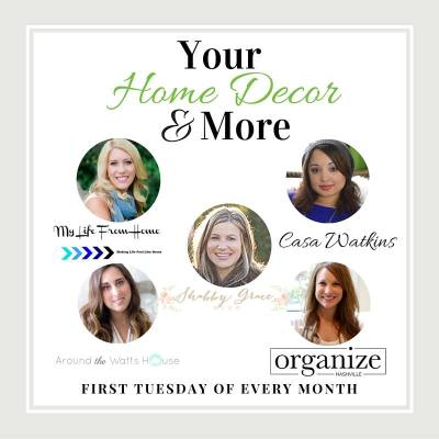 Home Decor & More Monthly Link Party {#3}