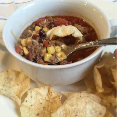 Weeknight Dinners: Taco Soup