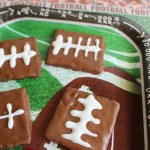 Football Graham Cracker Treats