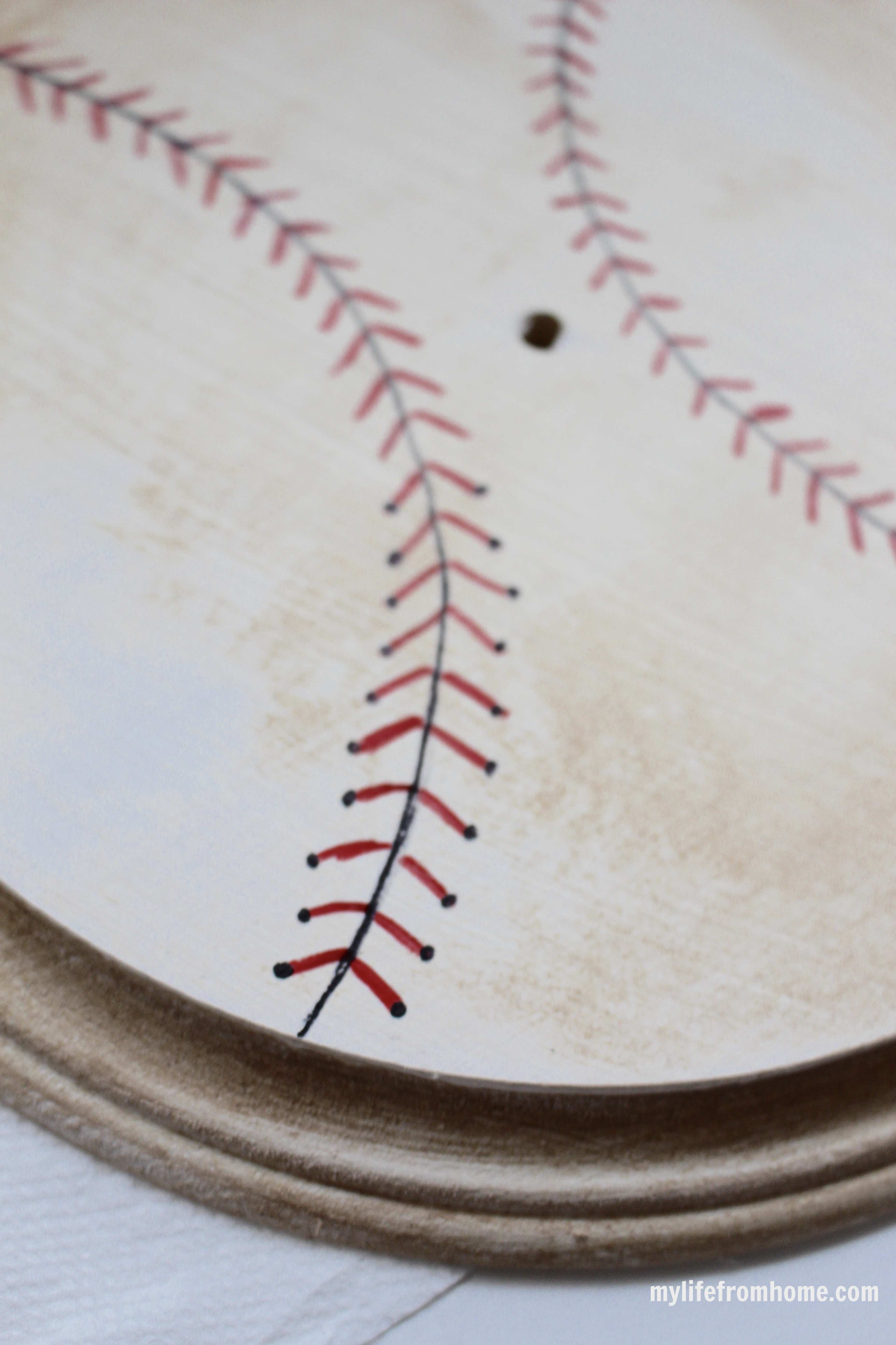 Pencil Lines and Baseball Stitches by www.whitecottagehomeandliving.com