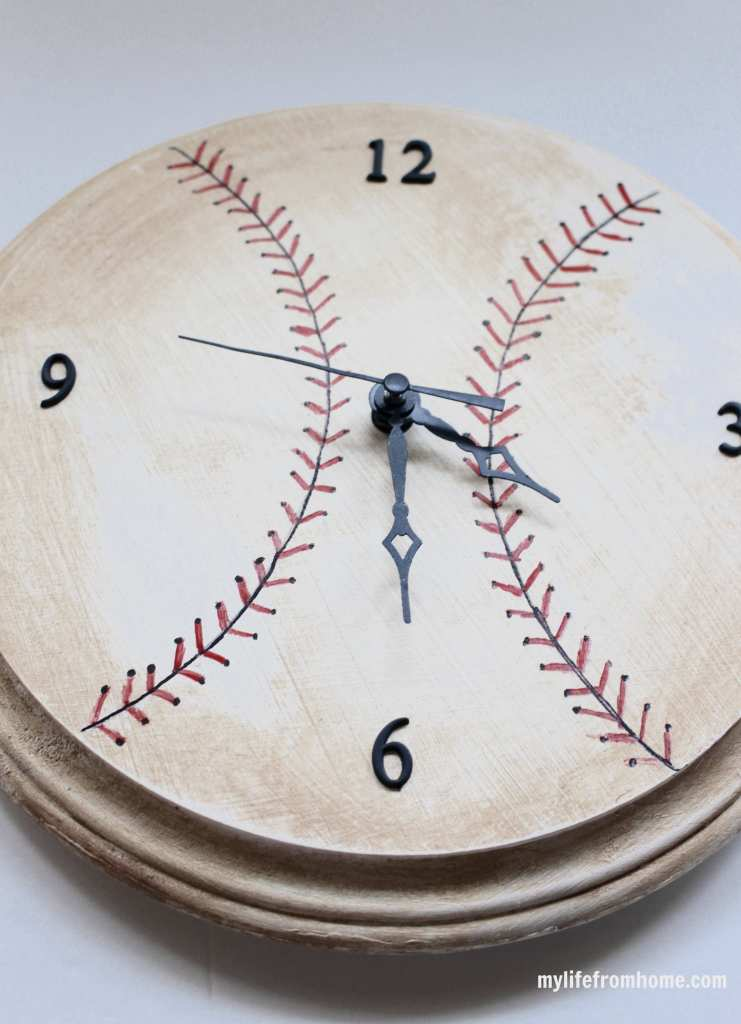Create Amp Share Monthly Challenge Diy Baseball Clock My