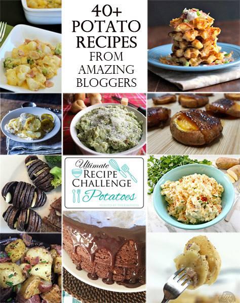 Recipe Challenge Collage- Potatoes