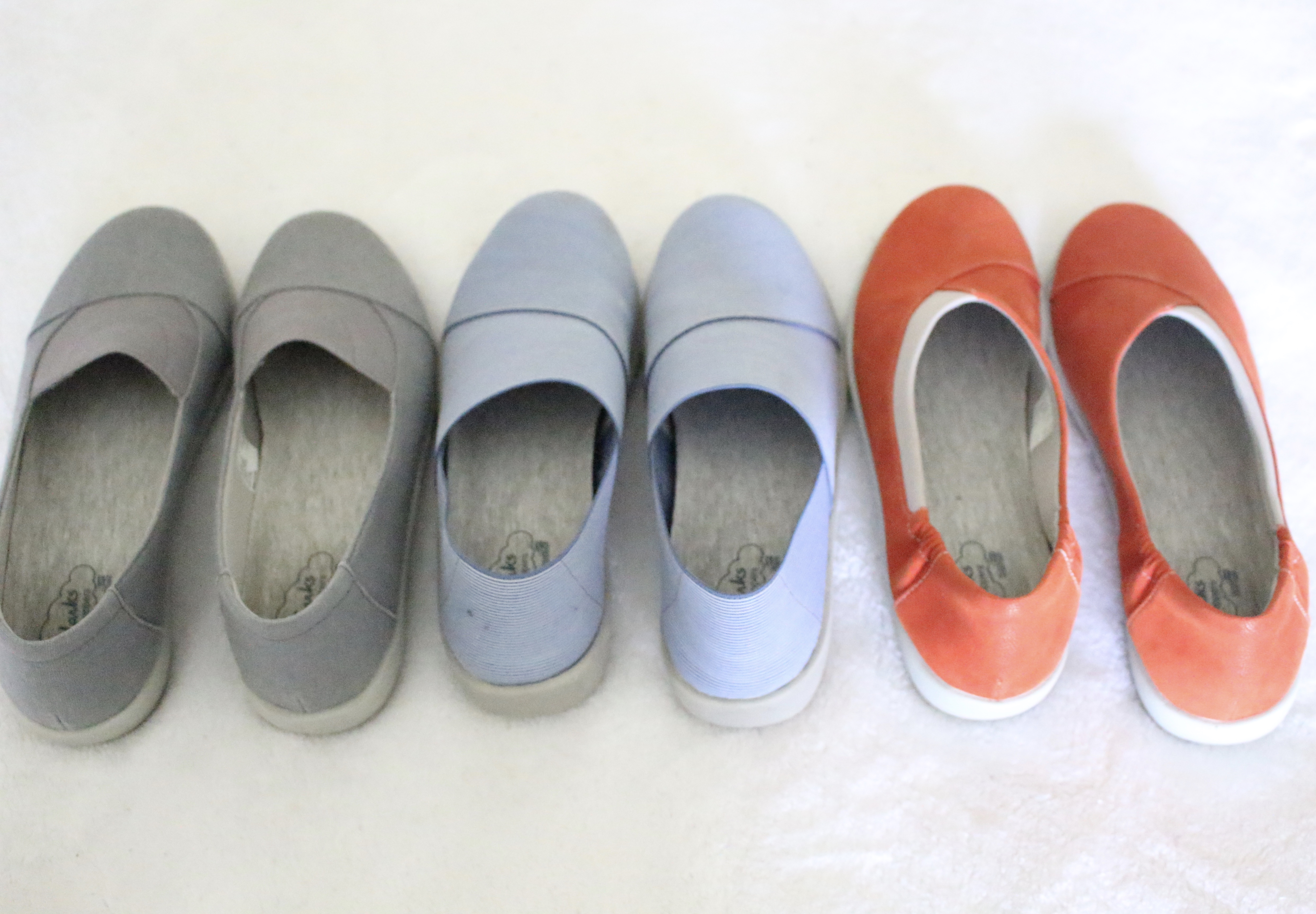 Clarks Cloud Steppers are versatile shoes by www.mylifefromhome.com
