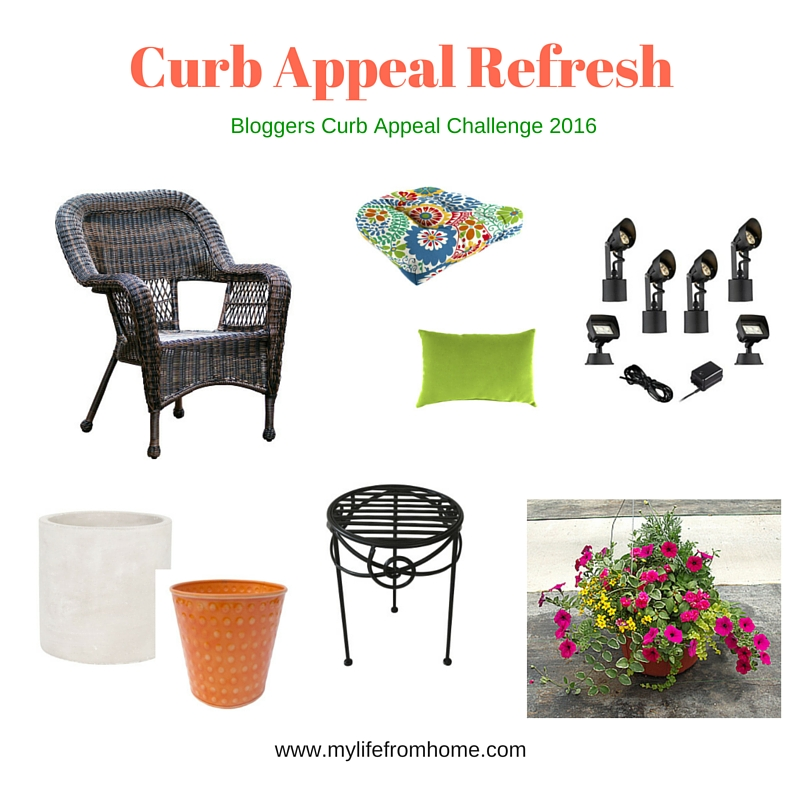 Curb Appeal Refresh Design Board