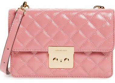 Michael Kors Crossbody Bag in Pink | purses | pink | women's fashion | handbags