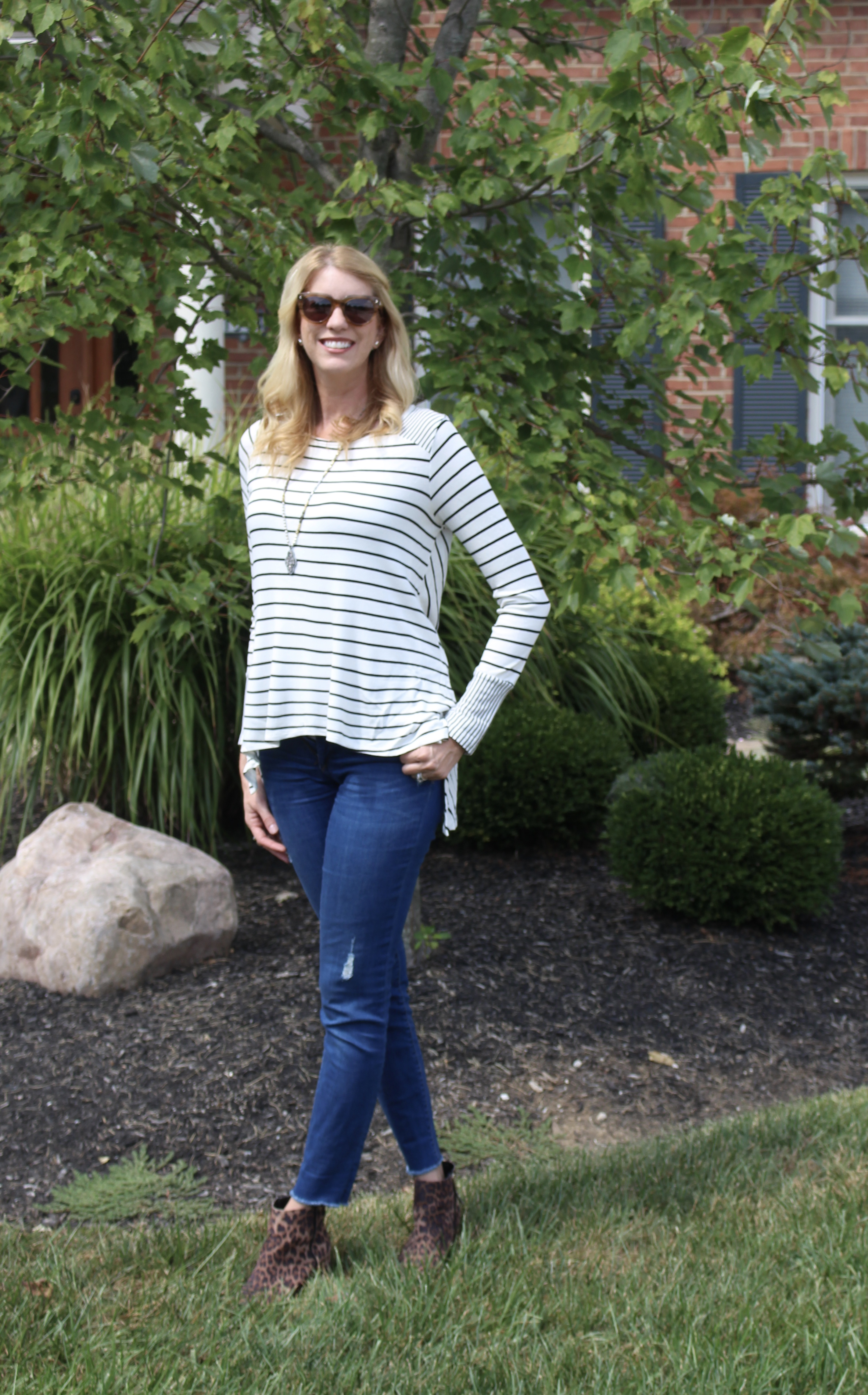 Glamour Farms Elbow Patch Thermal Shirt | Fall Fashion | Outfits | women's clothing | fall fashion | denim | casual clothes