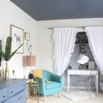 One Room Challenge {ORC} Week #6: Reveal of a Modern Teen Hangout Bedroom