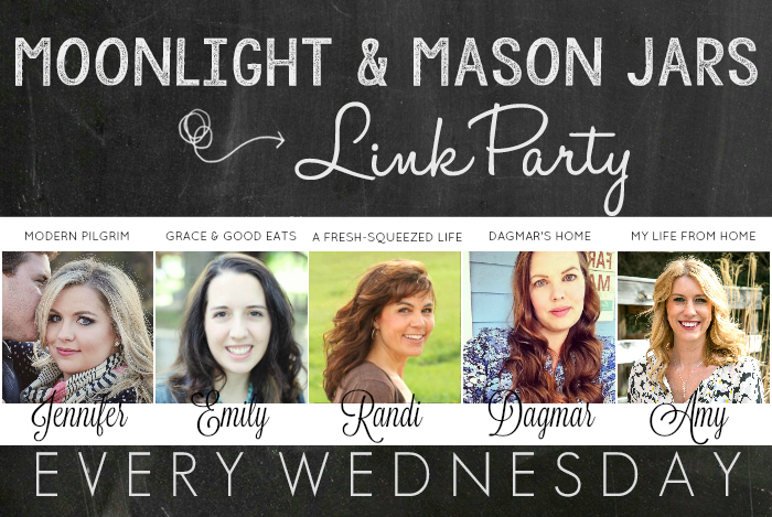 Moonlight & Mason Jars Link Party #196