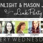 Moonlight & Mason Jars Link Party #196