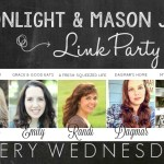 Moonlight & Mason Jars Link Party #199