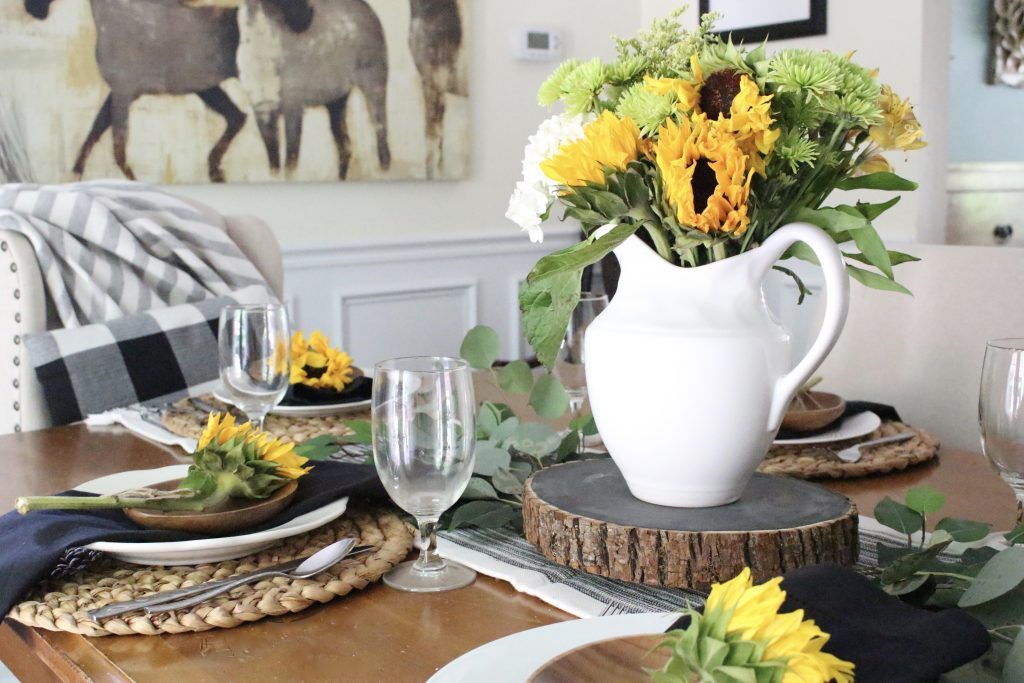 Summer Dining Table Decor Tablescape Tips & Tricks | White Cottage Home & Living