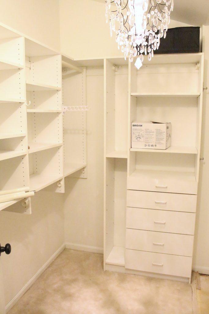 A full boutique closet reveal- master closet- closets- organizing closets- do it yourself- DIY- DIY projects- decoration ideas- room decor ideas- room design- home decor- closet decor- boutique- closet organization
