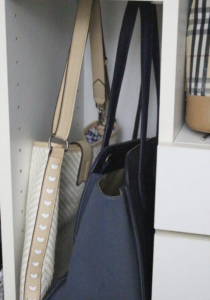 A full boutique closet reveal- master closet- closets- organizing closets- do it yourself- DIY- DIY projects- decoration ideas- room decor ideas- room design- home decor- closet decor- boutique- closet organization- shelf organization- walk in closet- purse display