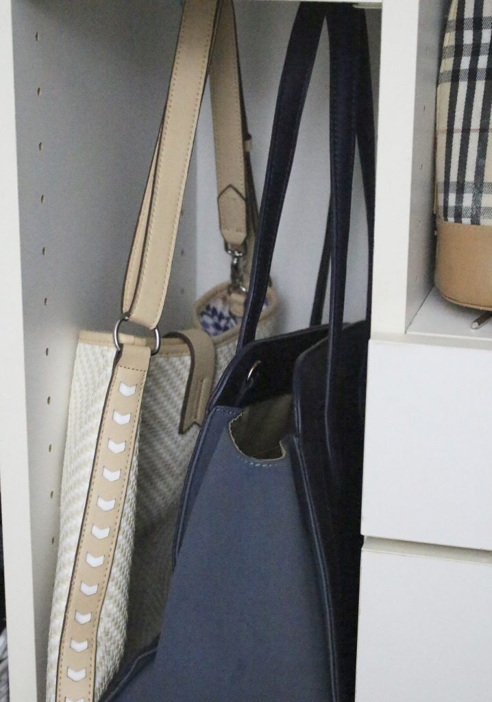 A full boutique closet reveal- master closet- closets- organizing closets- do it yourself- DIY- DIY projects- decoration ideas- room decor ideas- room design- home decor- closet decor- boutique- closet organization- shelf organization- walk in closet- purse display