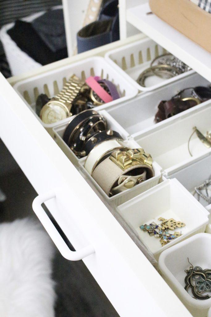 A full boutique closet reveal- master closet- closets- organizing closets- do it yourself- DIY- DIY projects- decoration ideas- room decor ideas- room design- home decor- closet decor- boutique- closet organization- shelf organization- walk in closet- jewelry storage