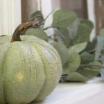 Decorate Your Mantel: Neutral & Serene Fall Mantel