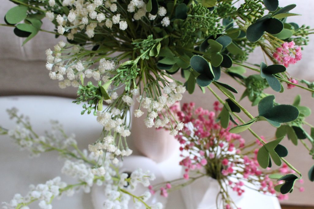 spring decor- spring decorating- home decor ideas for spring- Kirkland's Flower Market- DIY flower arrangements- DIY projects- decoration ideas- room decor ideas- crafts- craft ideas- flowers
