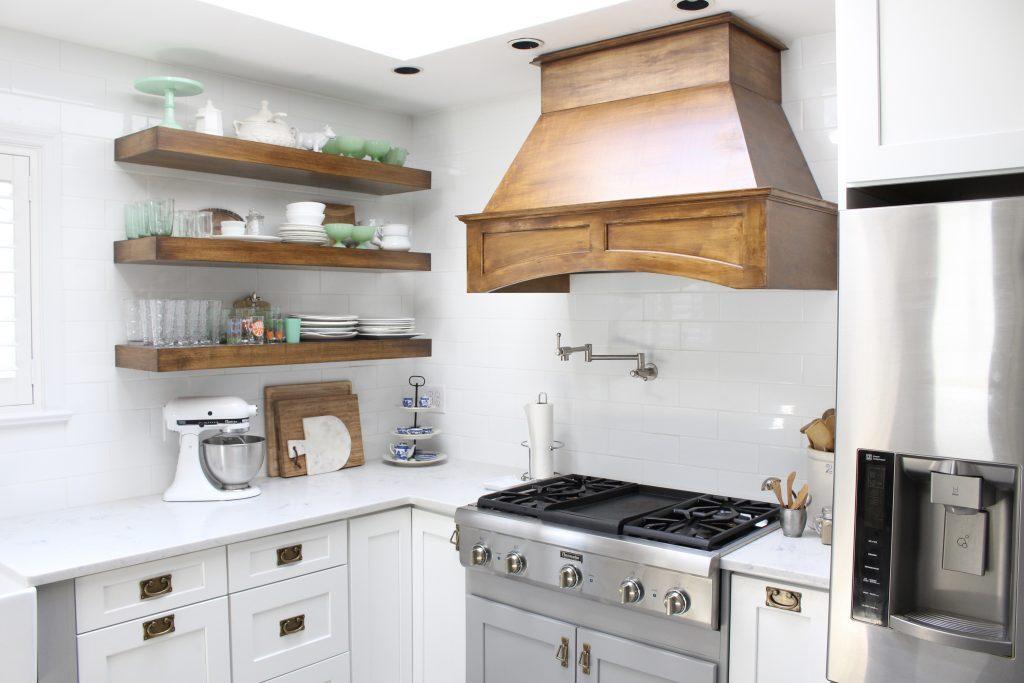 White Cottage Kitchen Renovation Reveal | White Cottage Home ...