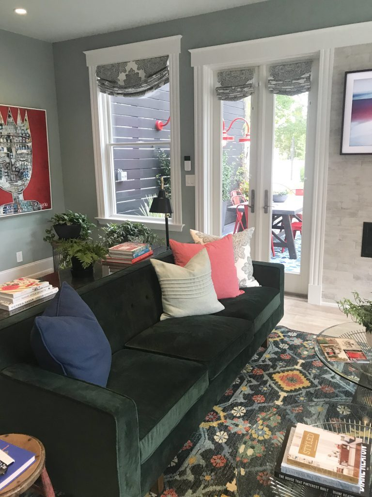 HGTV Dream Home Urban Oasis 2018- home design- Cincinnati- Brian Patrick Flynn- designer- Urban Home- color- decor- Home- hgtv- giveaway home