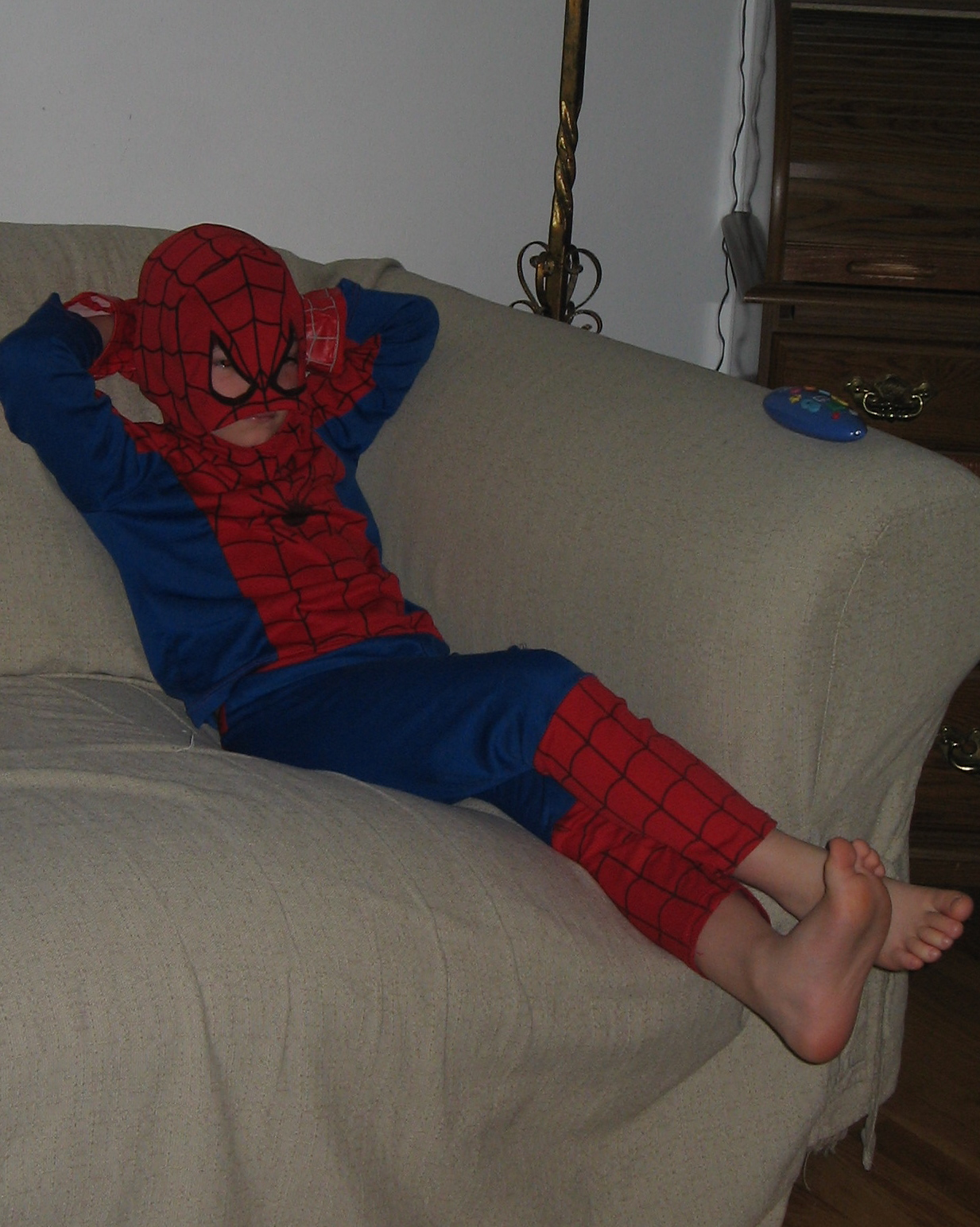 Even superheros deserve to relax