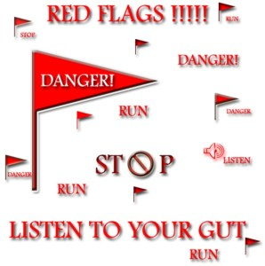 Dating red flag