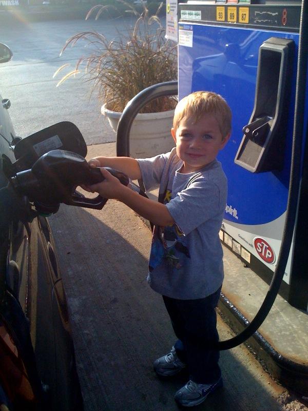 Braden Pumping Gas