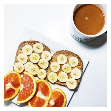 Almond Butter Banana Toast