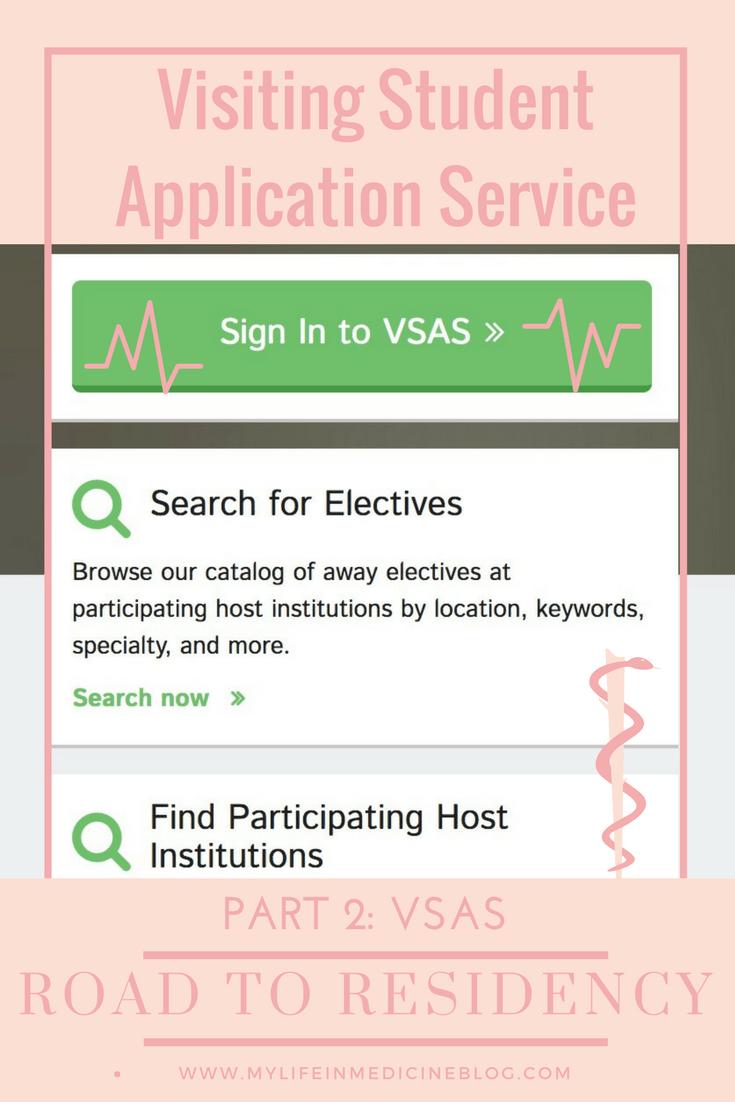 Road to residency VSAS