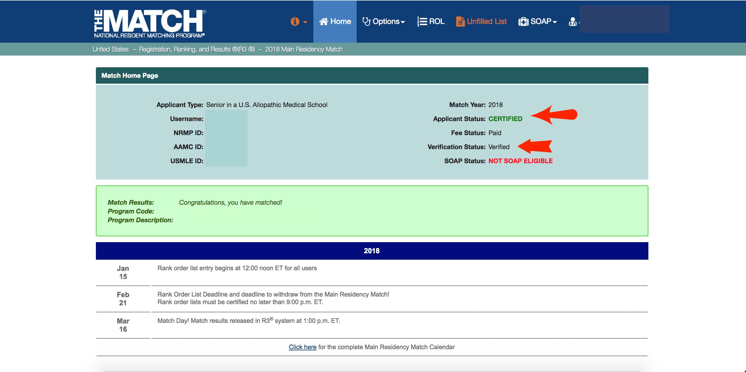 NRMP Home page