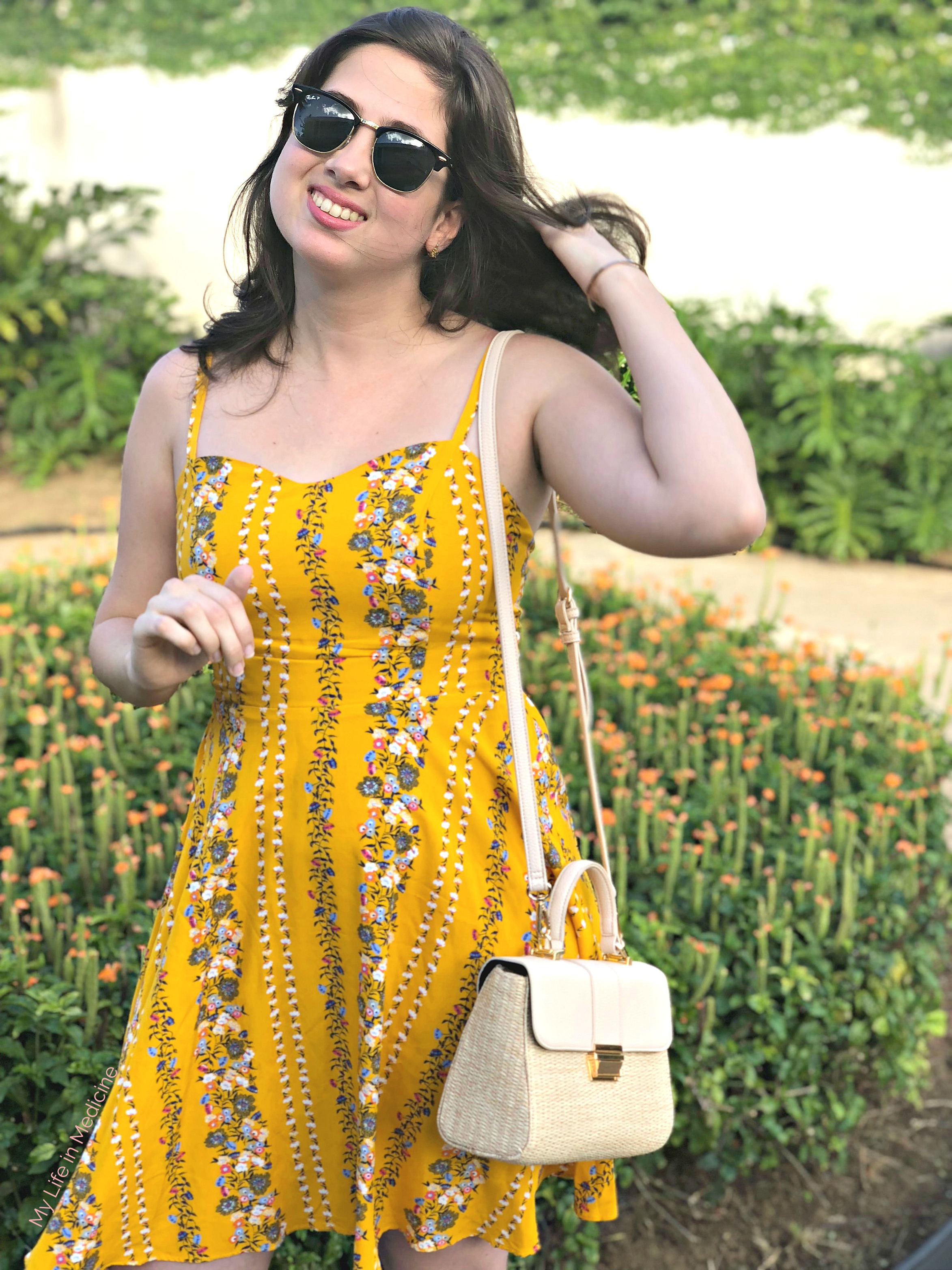Styling Old Navy Cami Dress