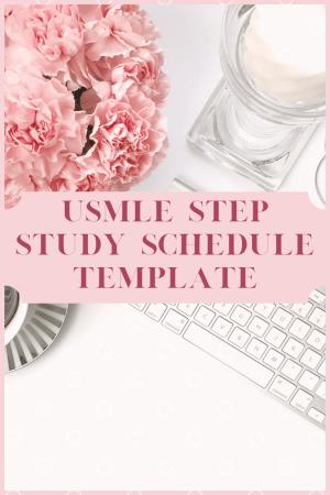 USMLE Step Study Schedule