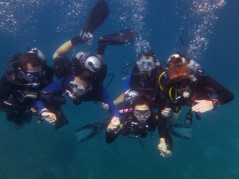 Our last dive with Jim for awhile...
