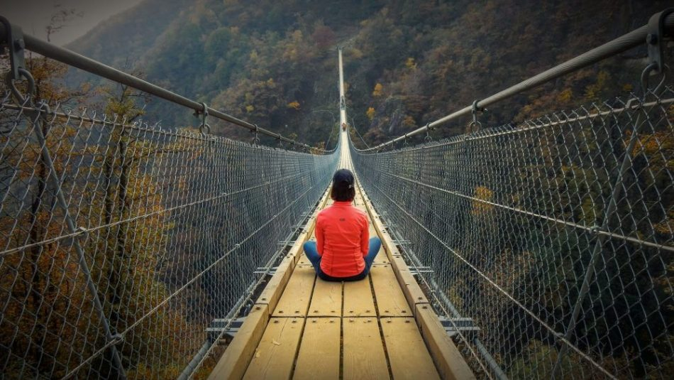 Ponte tibetano e vertigini