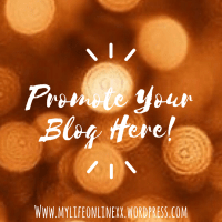 Promote Your Blog Here!