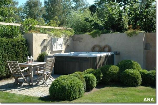 hot tubs landscaping ideas joy