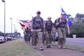 Rucking down 23rd Street in Panama City