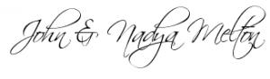 John and Nadya Signature