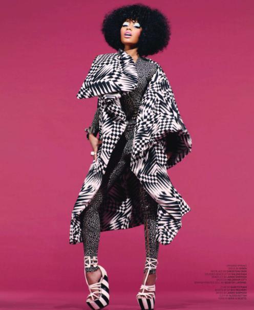 Nicki Minaj for Black Book Magazine