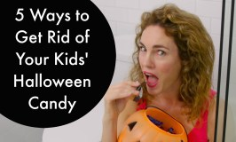 5 Ways to Get Rid of Your Kids' Halloween Candy
