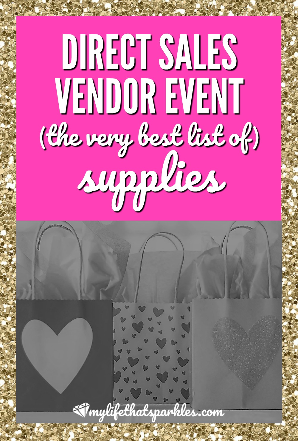Direct Sales Vendor Event Supplies