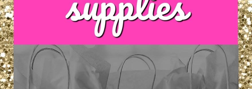 direct sales vendor event supplies