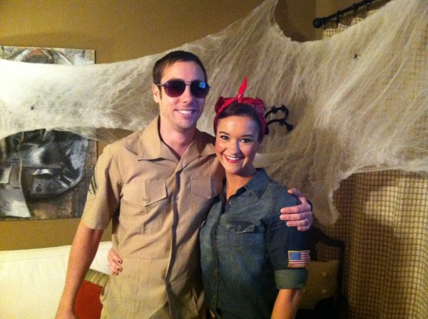Easy Costumes Rosie the Riveter