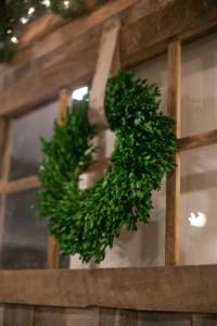 Barn Door Decor for Christmas