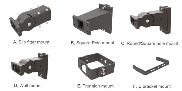 accessories of LED area light