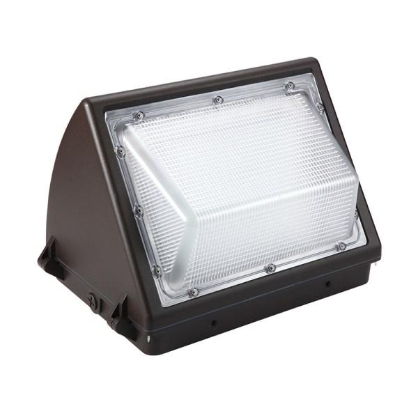 Semi cutoff led wall pack light 100w