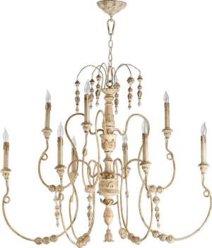 Quorum Salento 9 Light Chandelier
